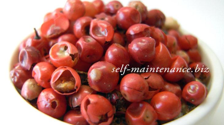 ピンクペパーの効能・美容効果・使い方・食材との相性