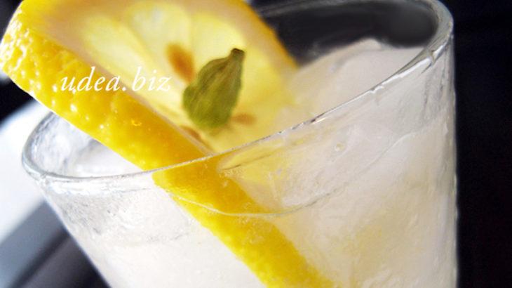身体に美味しい夏のカクテル:ラムダモン(カルダモンのお酒)