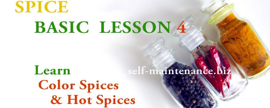 スパイスベーシック LESSON 4